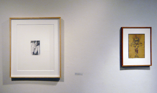 """Drawing in the World"" Installation Shot University of the Arts, Rosenwald-Wolf Gallery, Philadelphia, PA"